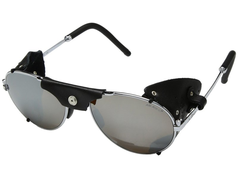 ジュルボアイウェア メンズ サングラス・アイウェア アクセサリー Cham Chrome/Black