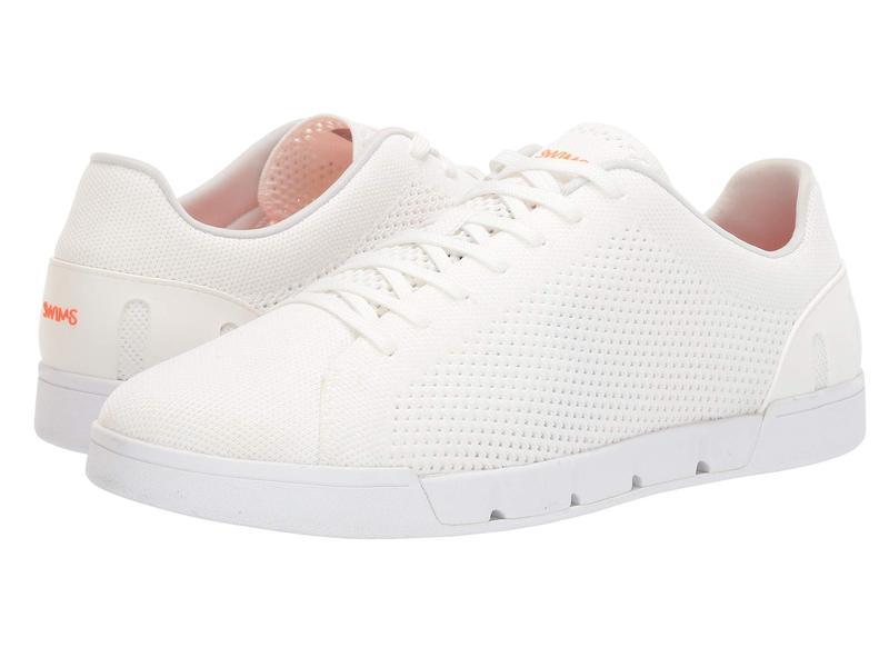 スウィムス メンズ スニーカー シューズ Breeze Tennis Knit Sneakers White