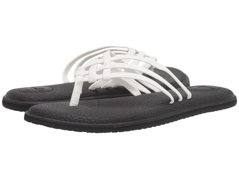 サヌーク レディース サンダル シューズ Yoga Salty White