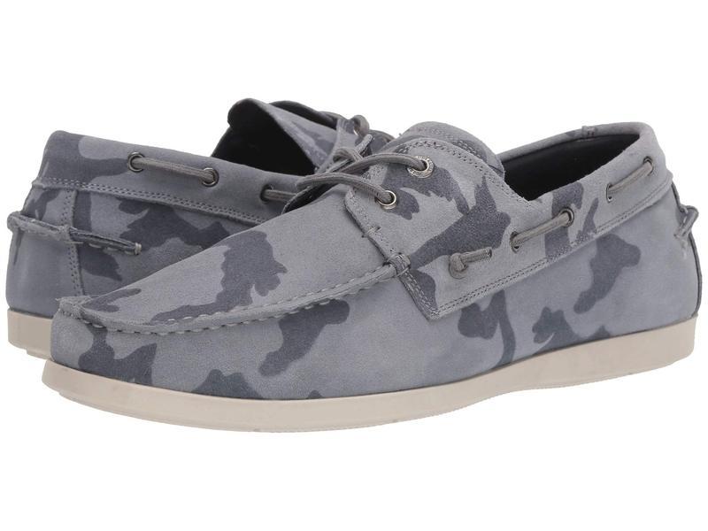 スティーブ マデン メンズ デッキシューズ シューズ Gametyme Boat Shoe Grey Camo