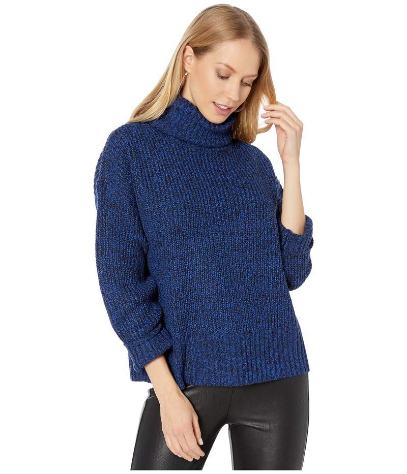 サンクチュアリー レディース ニット・セーター アウター The Roll Neck Sweater Web Blue/Black