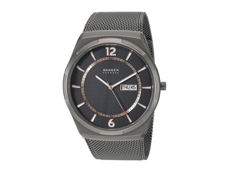 スカーゲン メンズ 腕時計 アクセサリー Melbye Steel-Mesh Watch - SKW6575 Smoke