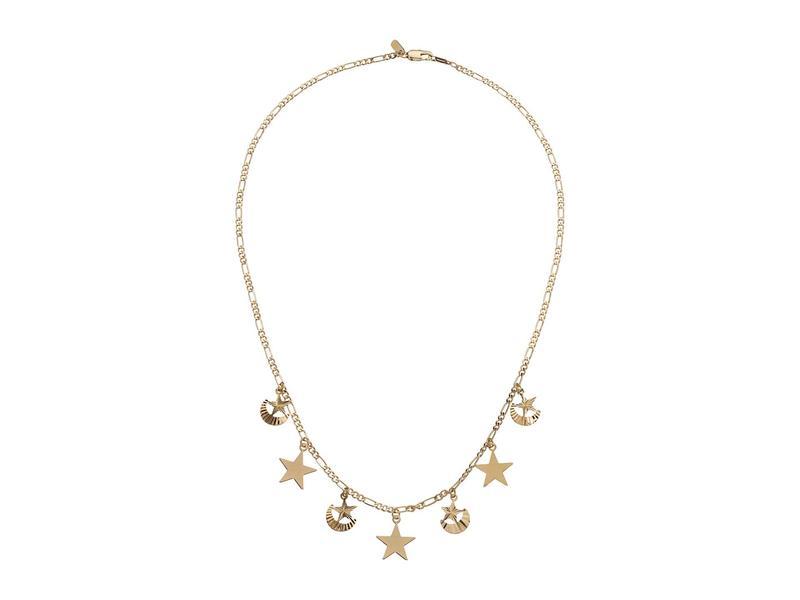 バネッサモーネイ レディース ネックレス・チョーカー・ペンダントトップ アクセサリー The Starshower Necklace Gold