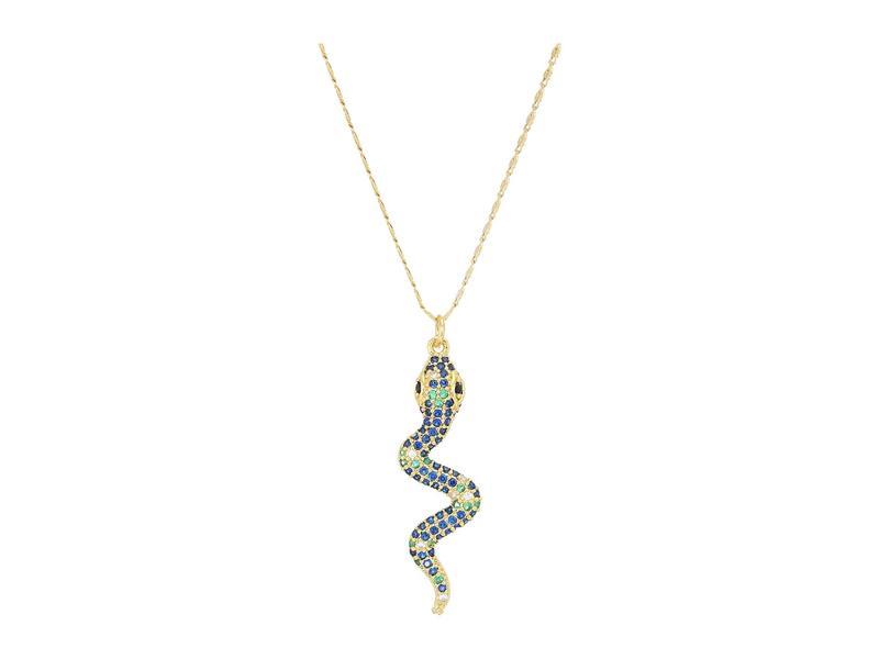 バネッサモーネイ レディース ネックレス・チョーカー・ペンダントトップ アクセサリー The Hedy Snake Necklace Gold