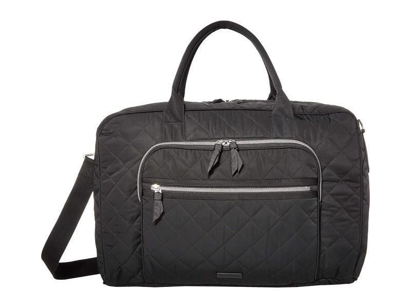 ベラブラッドリー レディース ボストンバッグ バッグ Iconic Lay Flat Bag Black