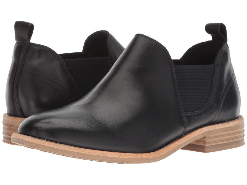 クラークス レディース ブーツ・レインブーツ シューズ Edenvale Page Black Leather