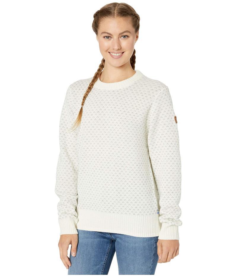 フェールラーベン レディース ニット・セーター アウター vik Nordic Sweater Chalk White