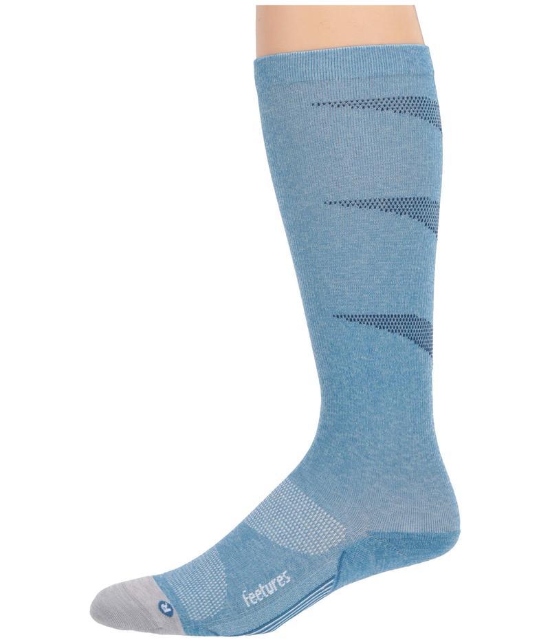 フィーチャー メンズ 靴下 アンダーウェア Graduated Compression Aurora Blue