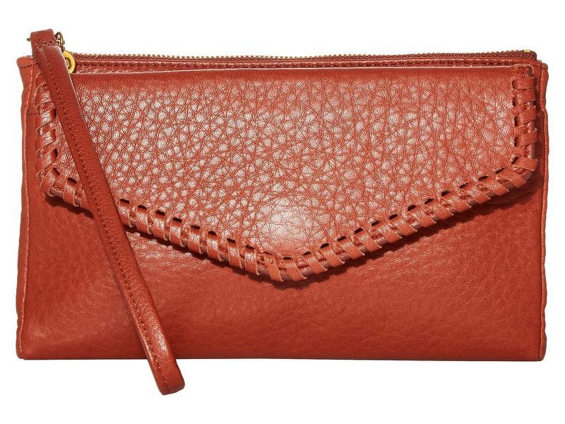 ホボ レディース 財布 アクセサリー Leather Wristlet Sienna