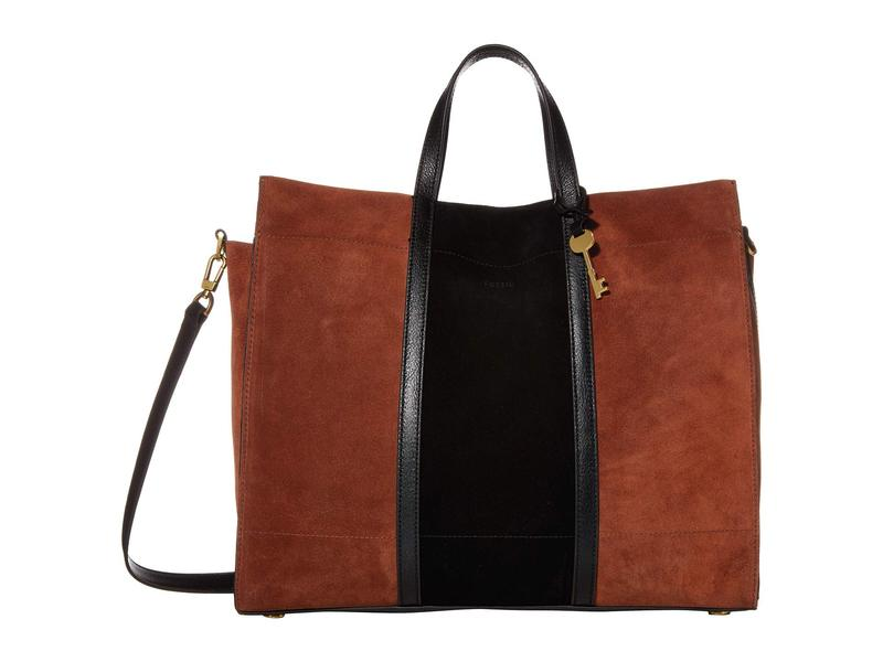 フォッシル レディース ハンドバッグ バッグ Carmen Tote Handbag Multicolor