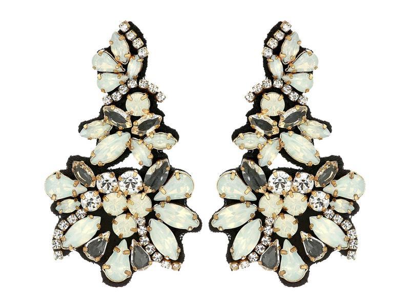 ジェイクルー レディース ピアス・イヤリング アクセサリー Gavotte Statement Earrings Crystal
