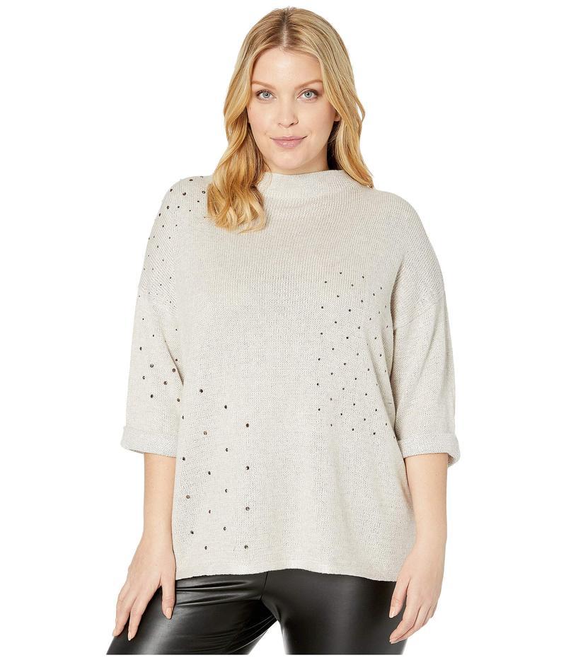 ニックプラスゾーイ レディース ニット・セーター アウター Plus Size Starry Eyed Sweater Sugar Cookie