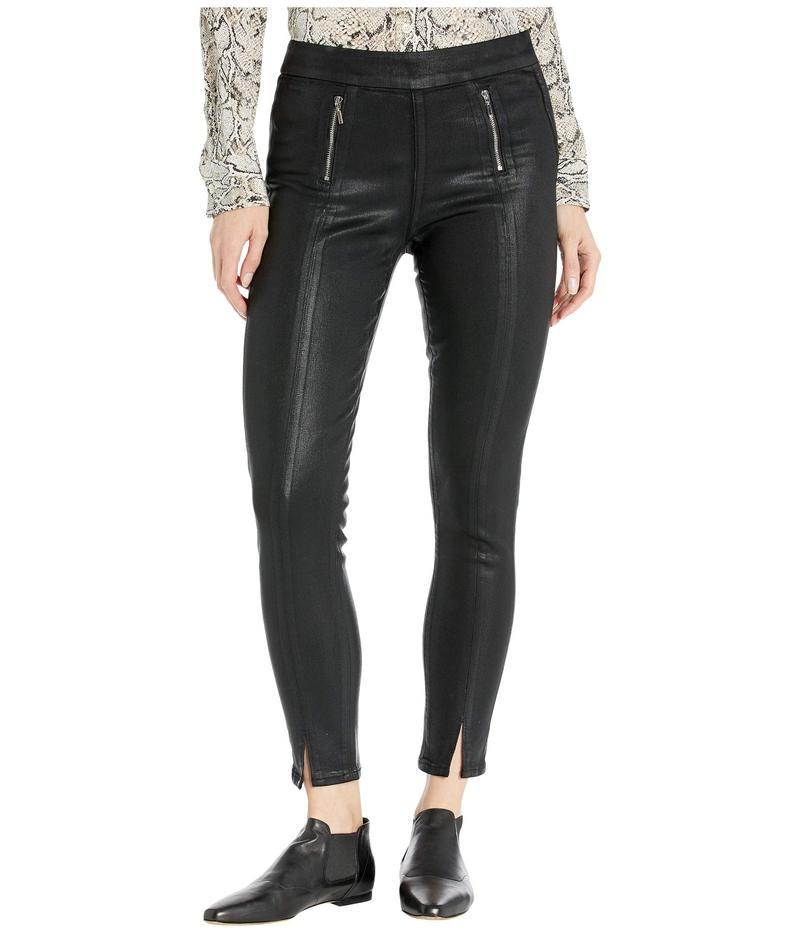 ペイジ レディース デニムパンツ ボトムス Talita Zip Ultra Skinny Jeans in Black Fog Luxe Coating Black Fog Luxe