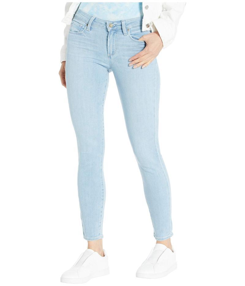 ペイジ レディース デニムパンツ ボトムス Verdugo Ankle Jeans in Icicle Distressed Hem Icicle Distress