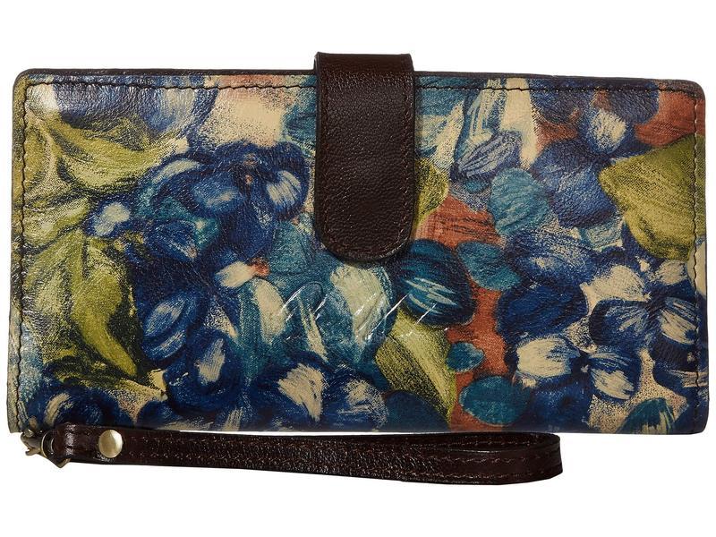 パトリシアナシュ レディース 財布 アクセサリー Valentia Blue Clay/Flora