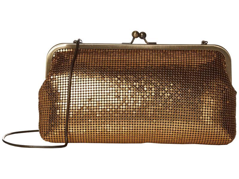 パトリシアナシュ レディース ハンドバッグ バッグ Potenaz Frame Antique Gold