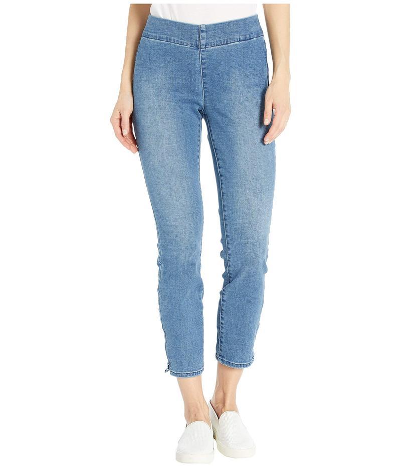エヌワイディージェイ レディース デニムパンツ ボトムス Pull-On Skinny Ankle Jeans in Clean Brickell Clean Brickell