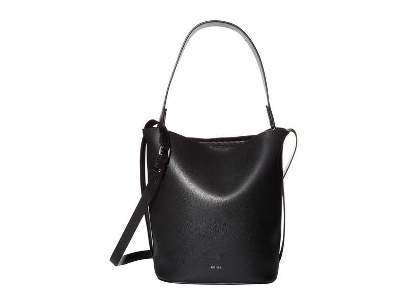 レイス レディース ハンドバッグ バッグ Hudson Bucket Bag Black
