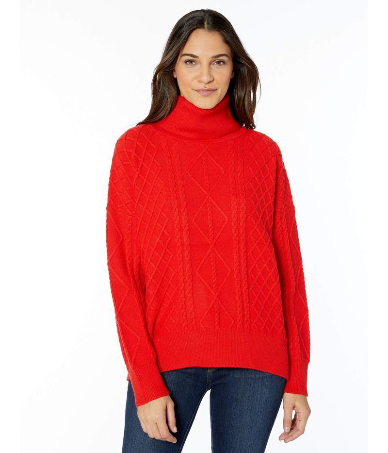 ウミーユアムーム レディース ニット・セーター アウター Farren Turtleneck Sweater Red Holly Cable