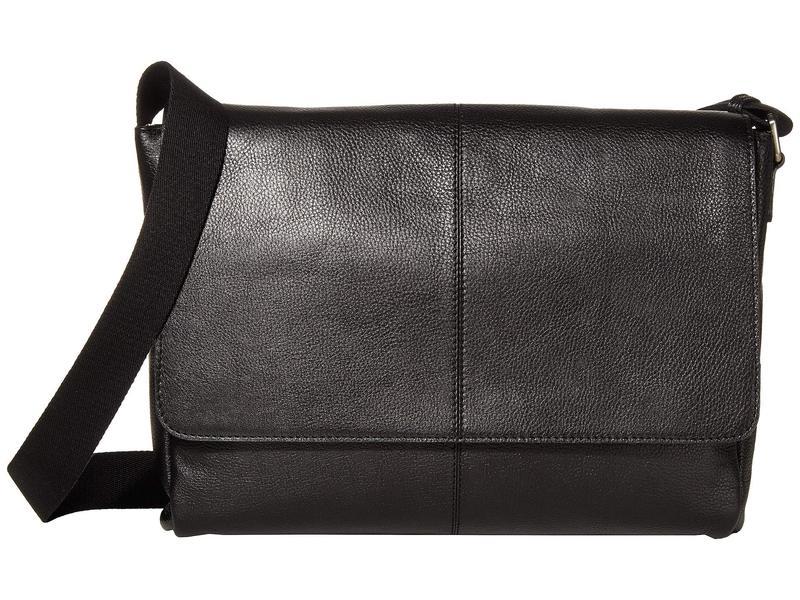 スカーリー メンズ ショルダーバッグ バッグ Dannie Messenger Bag Black