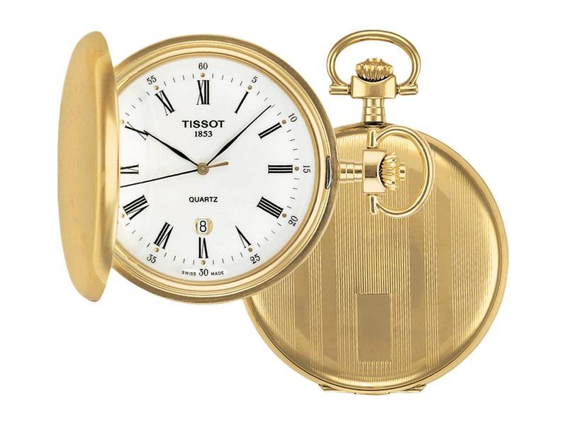 ティソット メンズ 腕時計 アクセサリー Savonnettes Quartz - T83455313 White
