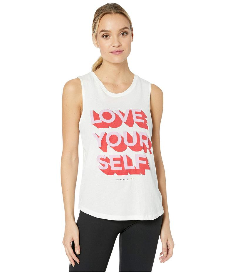 スピリチュアルギャングスタ レディース シャツ トップス Muscle Tank Love Yourself -