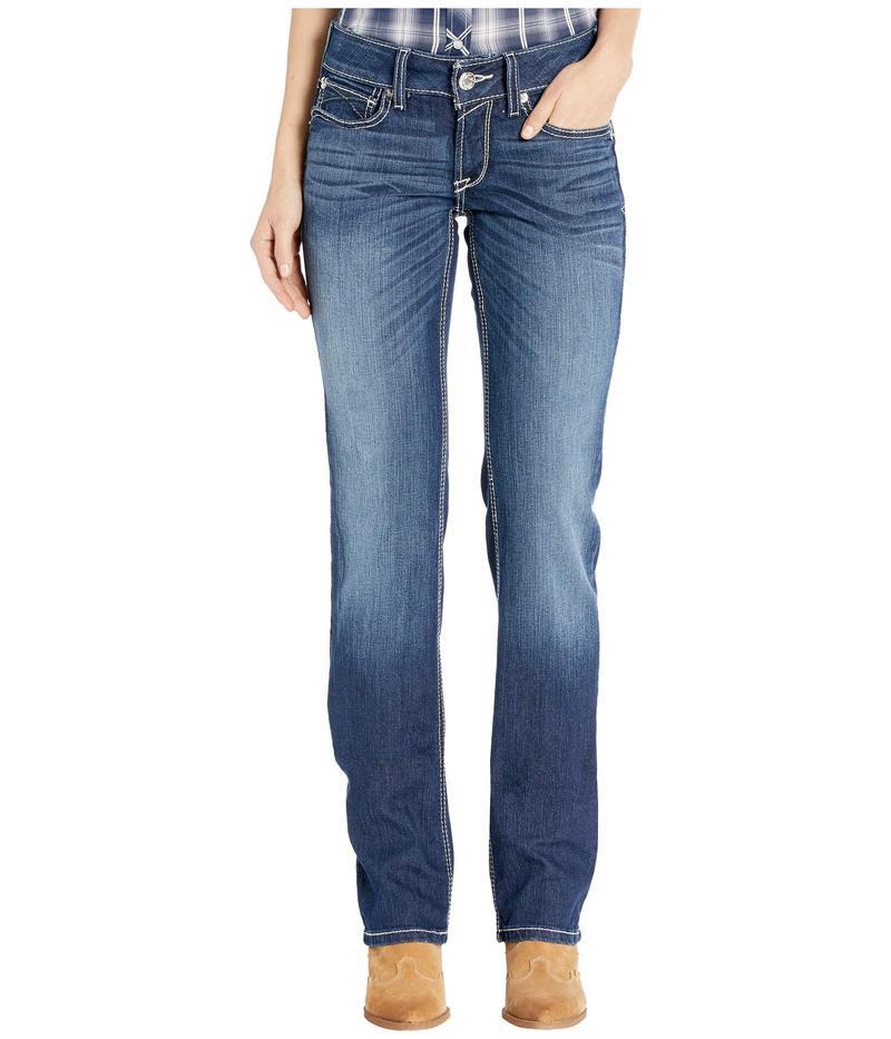 アリアト レディース デニムパンツ ボトムス R.E.A.L. Margot Straight Jeans in Lita Lita