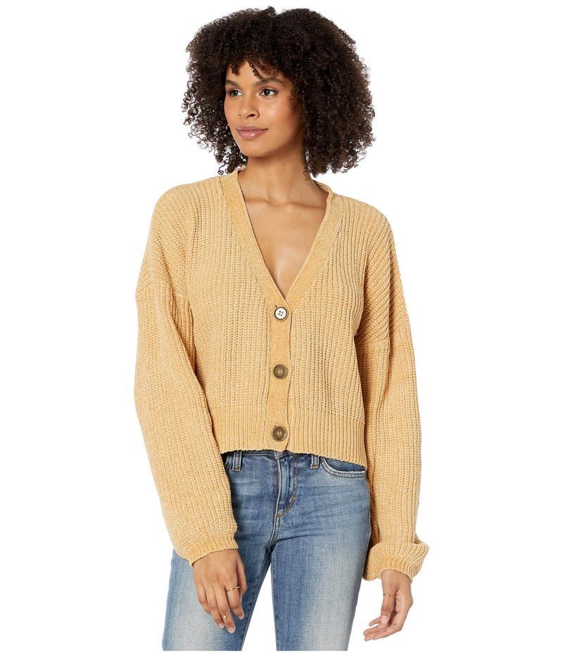ボルコム レディース ニット・セーター アウター DIY Fly Sweater Vintage Gold