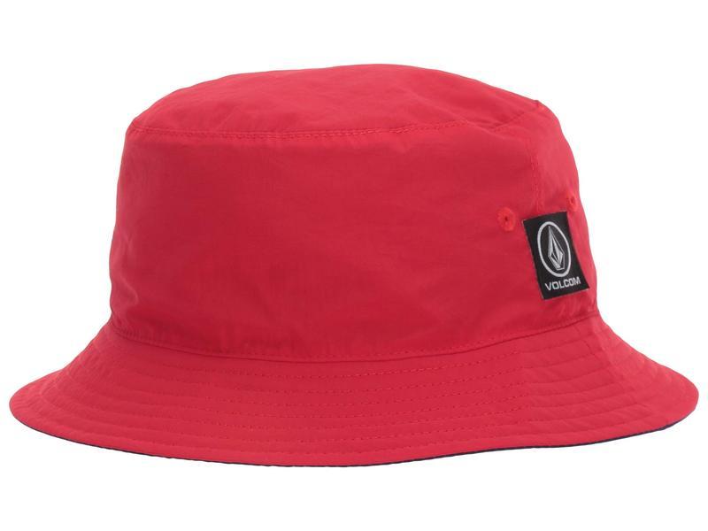 ボルコム メンズ 帽子 アクセサリー Box Stone Bucket Orange Red