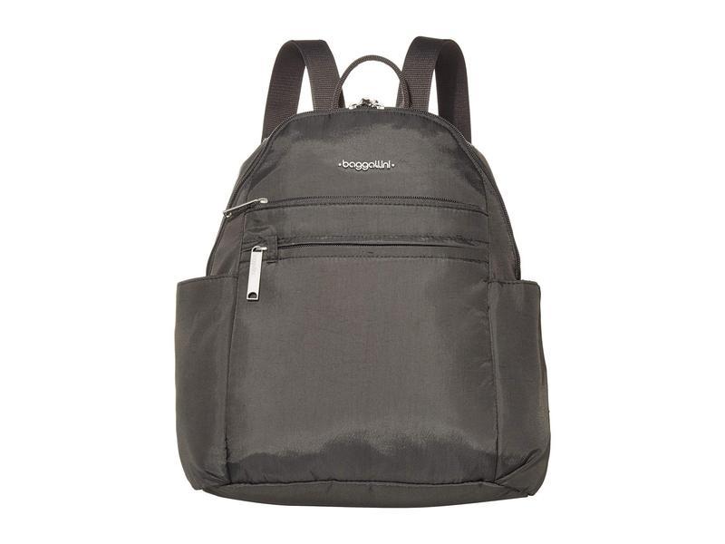 バッガリーニ レディース バックパック・リュックサック バッグ Anti-Theft Vacation Backpack Charcoal