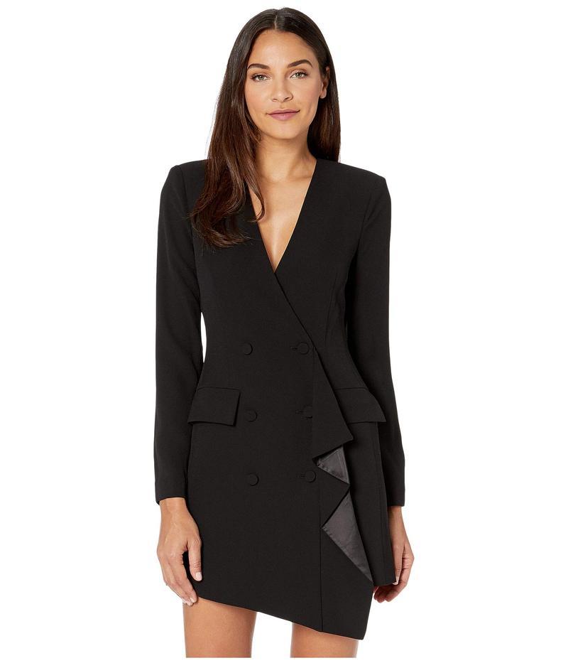 ビーシービージーマックスアズリア レディース ワンピース トップス Blazer Dress Black