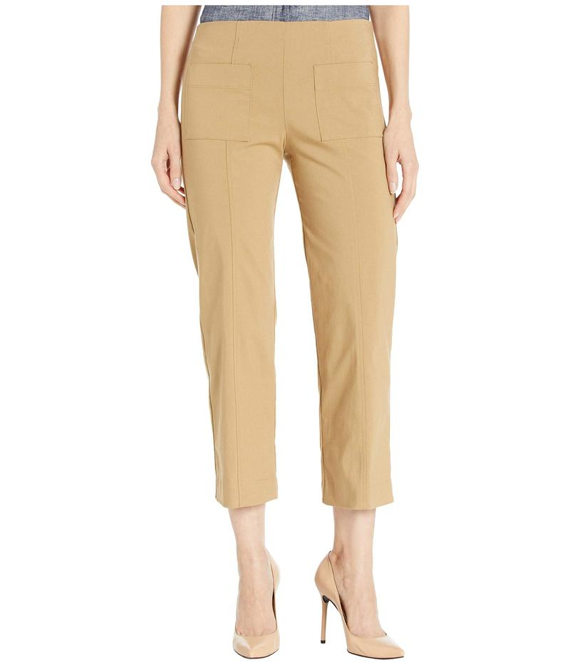 エリオットローレン レディース カジュアルパンツ ボトムス Control Stretch Pull-On Pants with Center Front Pockets Latte