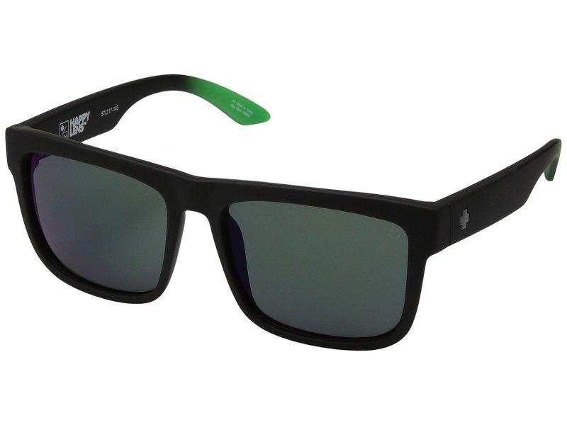 スパイオプティック メンズ サングラス・アイウェア アクセサリー Discord Discord Soft Matte Black/Green Fade/Happy Gray/Green/Green Flash