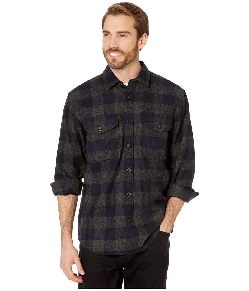 フィルソン メンズ シャツ トップス Northwest Wool Shirt Heather Grey/Na