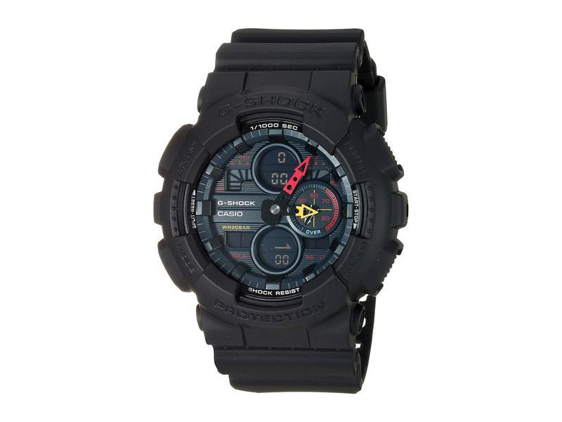 ジーショック メンズ 腕時計 アクセサリー GA140BMC-1A Black