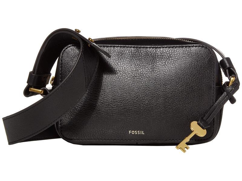 フォッシル レディース ハンドバッグ バッグ Billie Crossbody Handbag Black