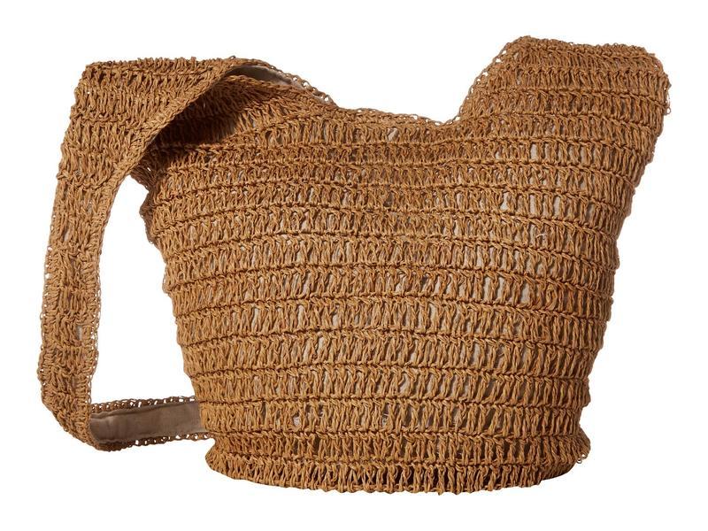 ハットアタック レディース ハンドバッグ バッグ Soft Slouch Bag Toast