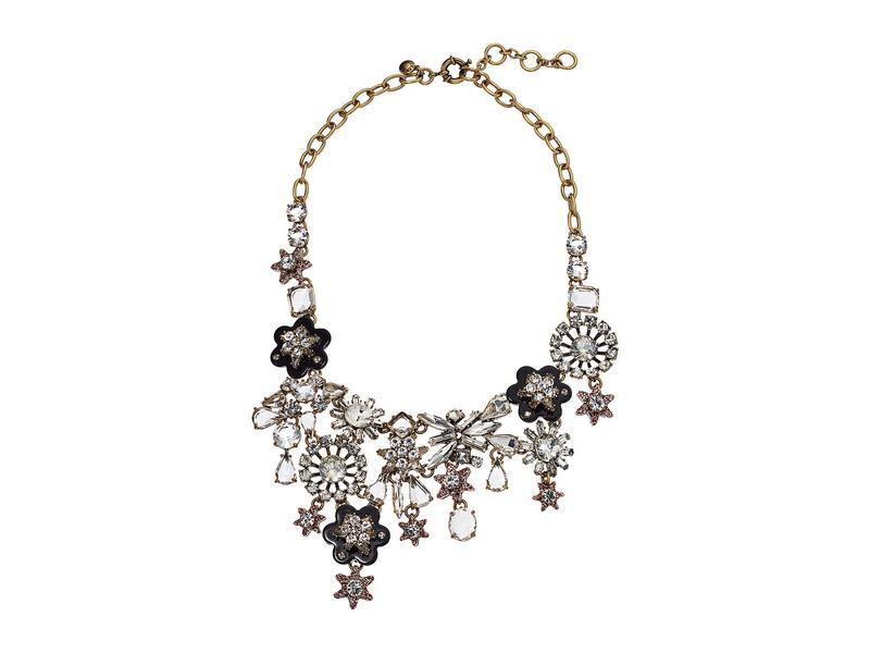 ジェイクルー レディース ネックレス・チョーカー・ペンダントトップ アクセサリー Starflower Collage Necklace Crystal