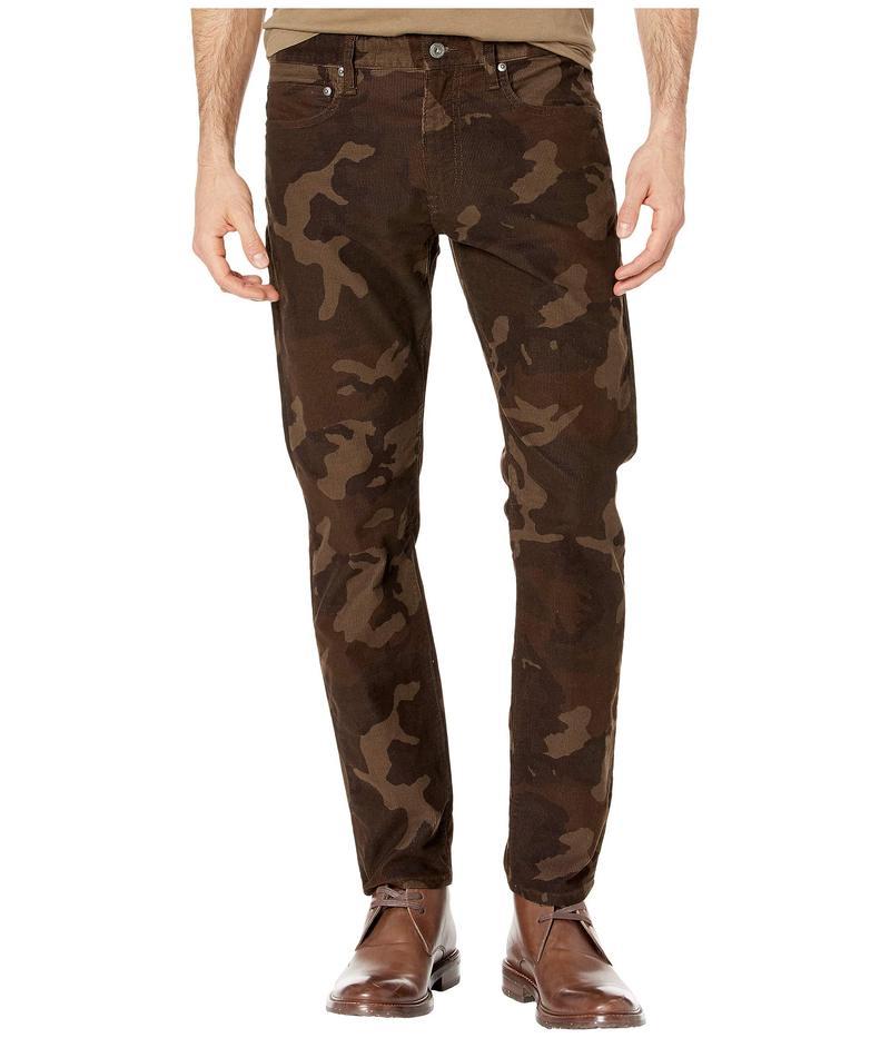 ジェイクルー メンズ カジュアルパンツ ボトムス 484 Slim-Fit Pant in Camouflage Corduroy Dark Brown