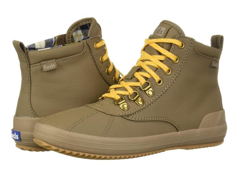 ケッズ レディース ブーツ・レインブーツ シューズ Scout Boot II Matte Twill WX Walnut
