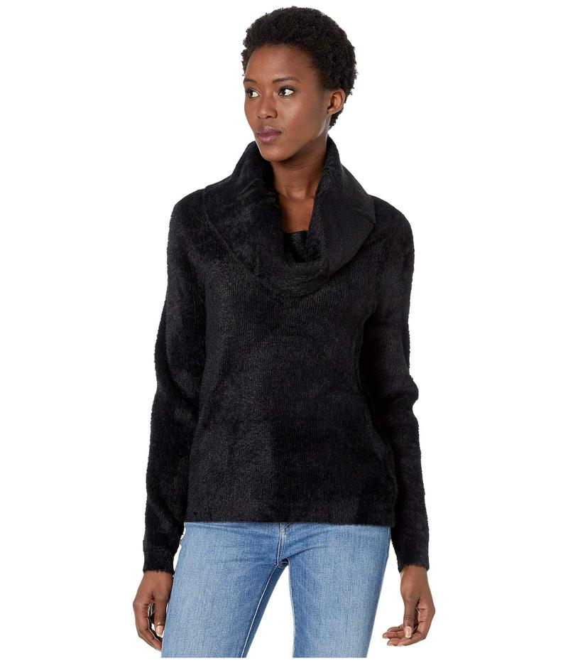 マイケルコース レディース ニット・セーター アウター Fluffy Cowl Sweater Black