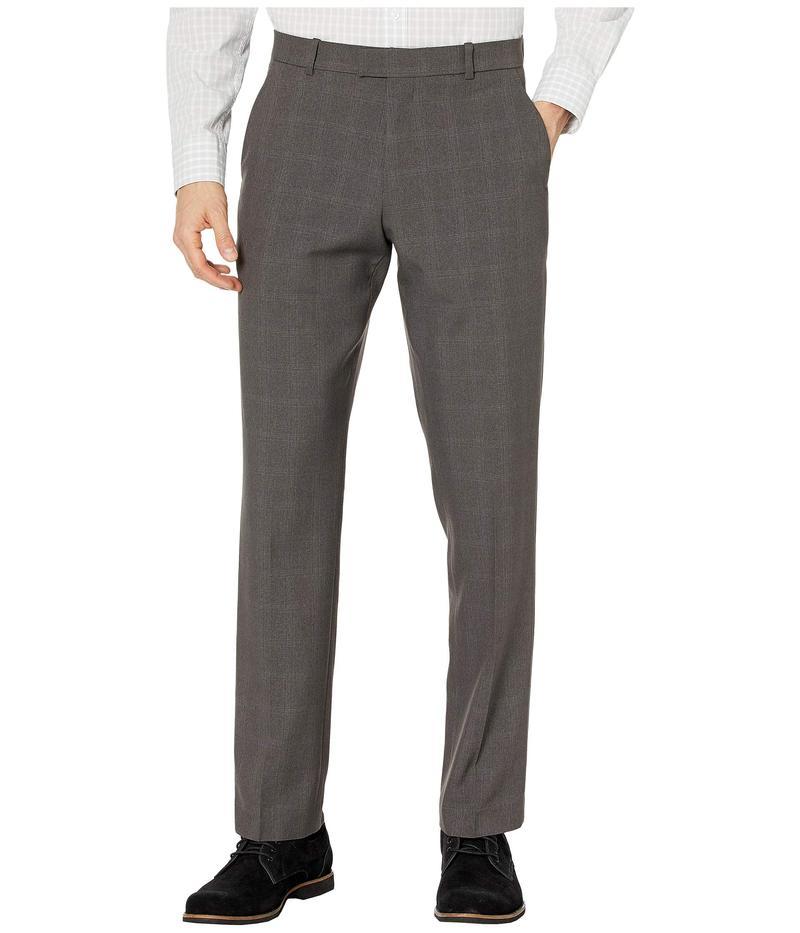ペリーエリス メンズ カジュアルパンツ ボトムス Modern Fit Heathered Performance Dress Pants Charcoal Heathe