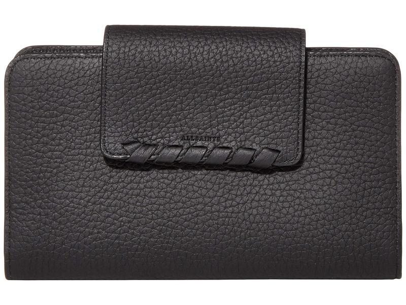 オールセインツ レディース 財布 アクセサリー Kita Japanese Wallet Black