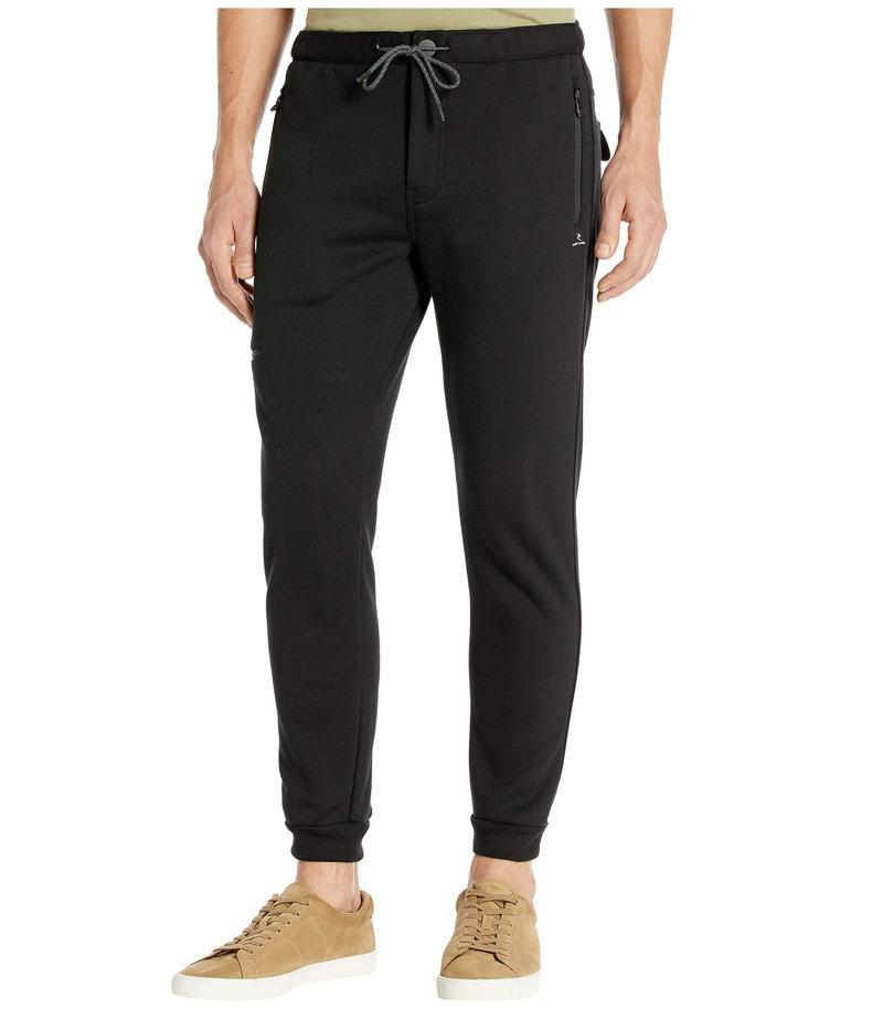 リップカール メンズ カジュアルパンツ ボトムス Departed Anti Series Pants Black