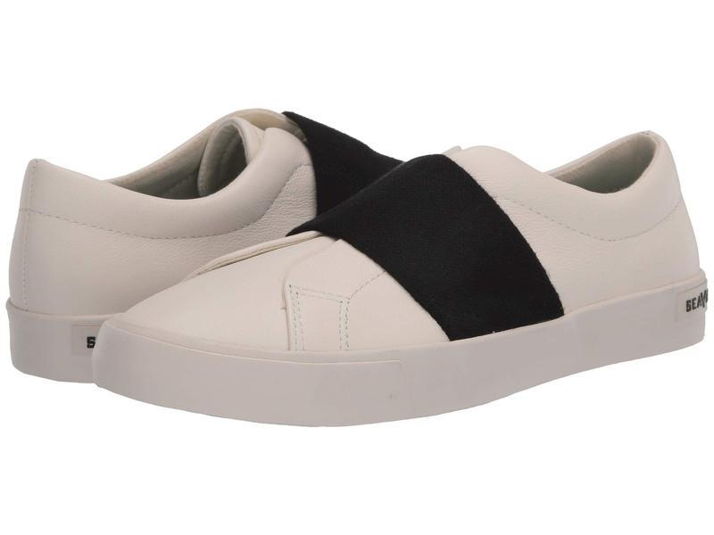 シービーズ レディース スニーカー シューズ Gallery Gore Sneaker Leather White