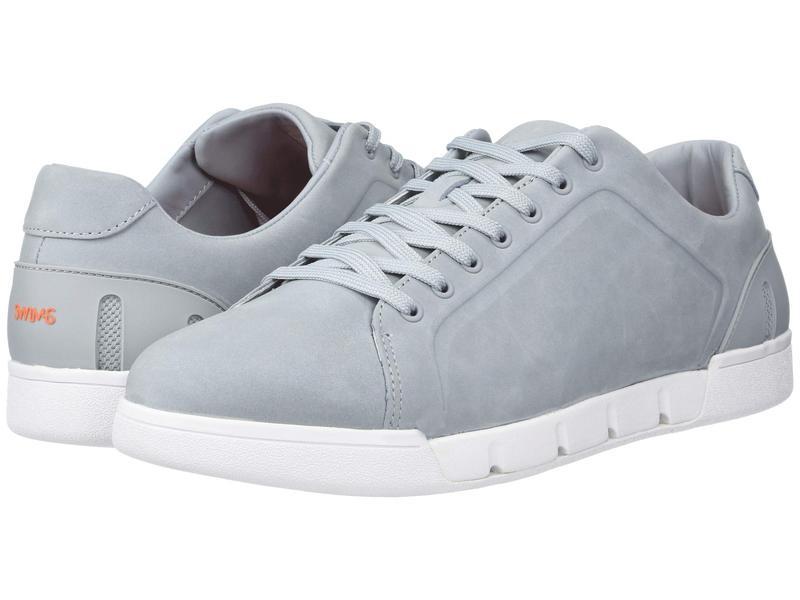 スウィムス メンズ スニーカー シューズ Breeze Tennis Leather Quarry/White
