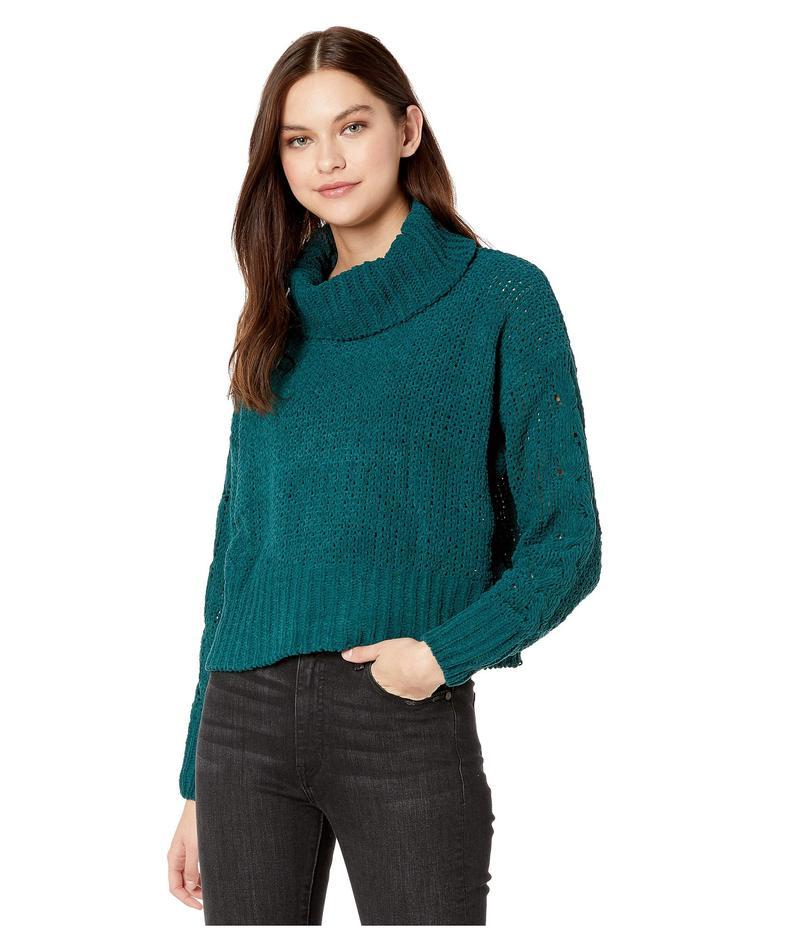 ビラボン レディース ニット・セーター アウター Cherry Moon Sweater Deep Jade