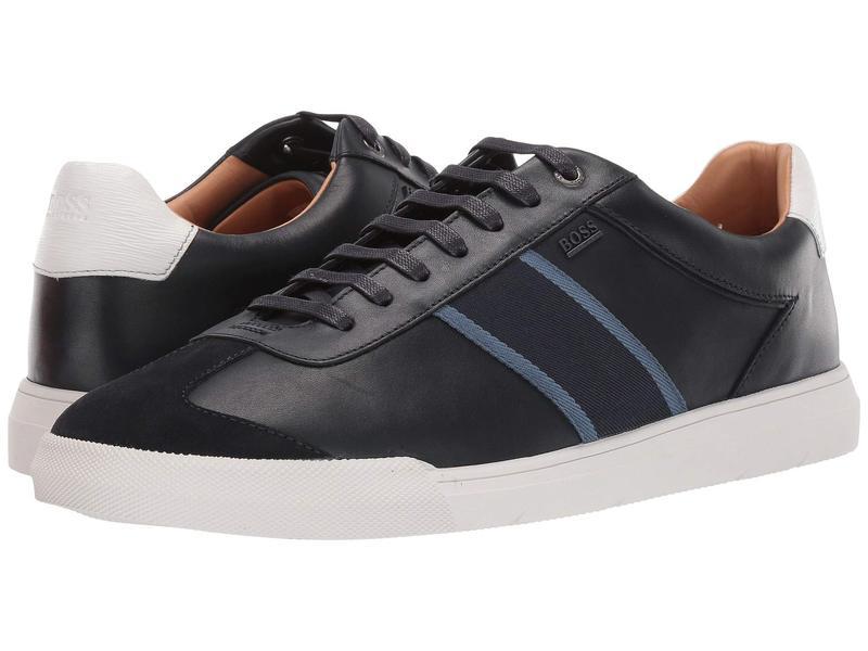 ヒューゴボス メンズ スニーカー シューズ Cosmopool Tenn Sneakers Dark Blue