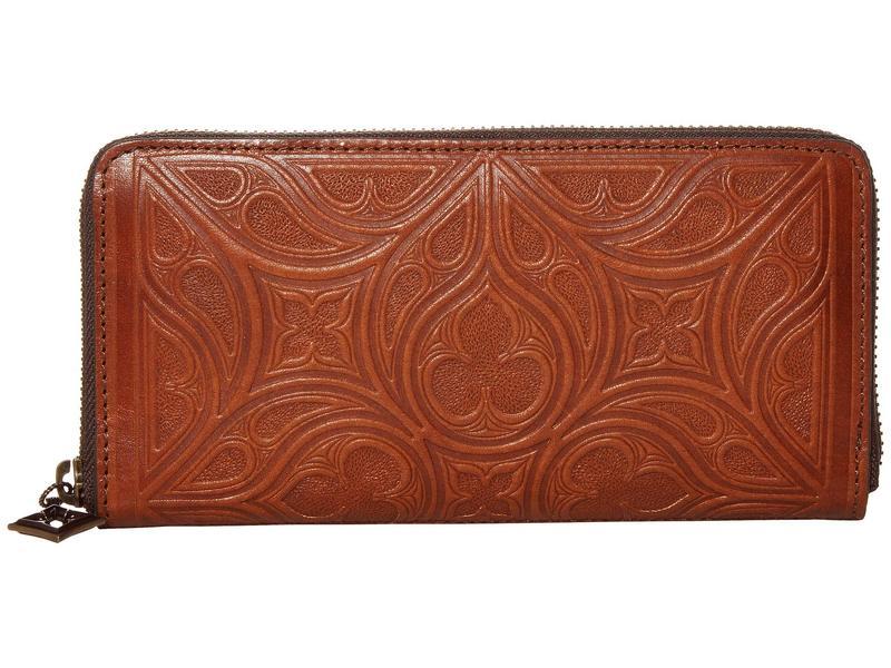ブライトン レディース 財布 アクセサリー Ferrara Toscana Zip Wallet Cognac