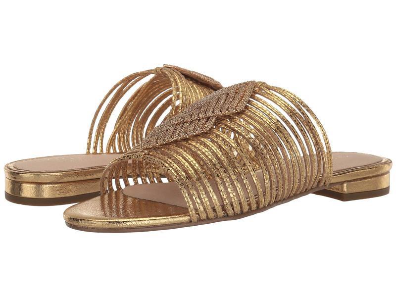 セシリア ニューヨーク レディース サンダル シューズ Darleen Gold/Gold Stone
